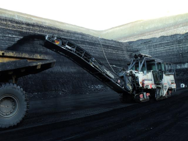 Mining Coal in Queensland